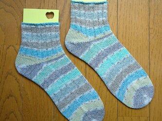 手編み靴下 ラナグロッサ 6107の画像
