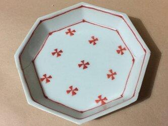 Z259 磁器染付八角小皿の画像