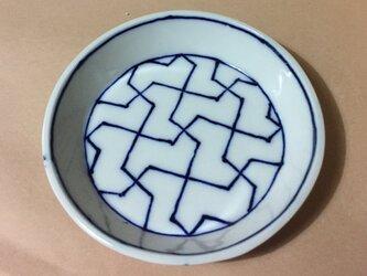 Z260 磁器染付丸小皿の画像
