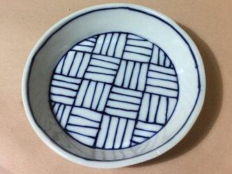 Z261 磁器染付丸小皿の画像