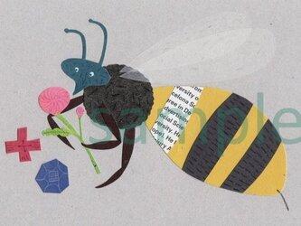 070「ミツバチのお花屋さん」ポストカード選べる5枚セットの画像