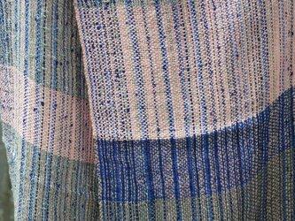 シルク手織マフラー 2の画像