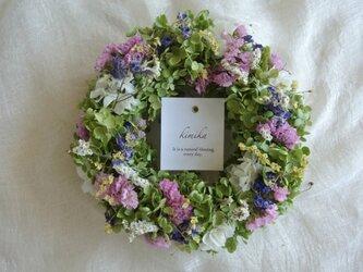 Flowering meadow wreath.ktの画像