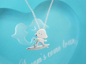 SALE!クラゲ サーフィン シルバーペンダントの画像
