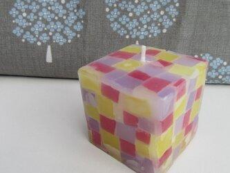 送料無料! mozaiku cube キャンドル 003の画像