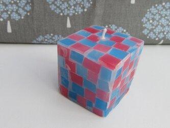 送料無料! mozaiku cube キャンドル 004の画像