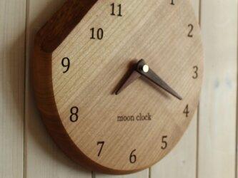 moon clock 250mmの画像