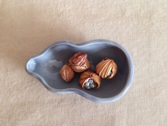 ひょうたん小皿の画像