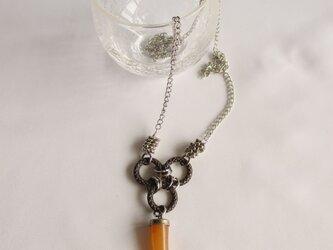 カーネリアントップのネックレス   の画像