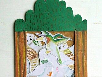 【NEW!!】鳥のなかまたち  フレークシールの画像