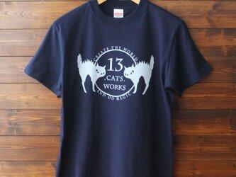 Tシャツ(ロゴ)-シルクスクリーン-13.CATS.WORKSオリジナルの画像
