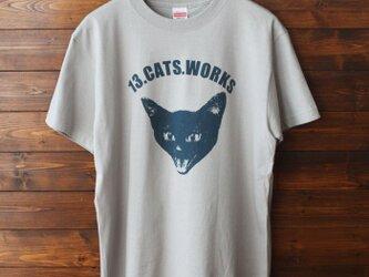 Tシャツ(VIVI FACE)-シルクスクリーン-13.CATS.WORKSオリジナルの画像