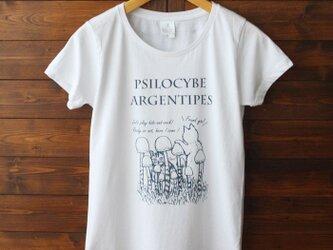 Tシャツ(猫とネコのかくれんぼ)-シルクスクリーン-13.CATS.WORKS × YO-COの画像