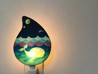 Night Lamp **再販 「ある海の詩 」の画像