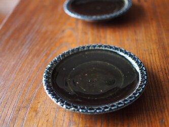 ケーキ皿 紺色の画像