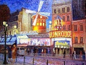 パリの街角 ムーラン・ルージュの画像