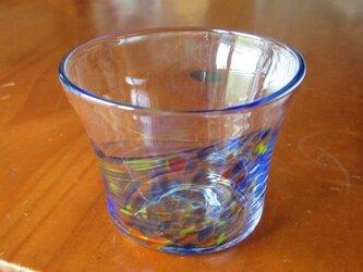 カップ。ブルーミックス。の画像