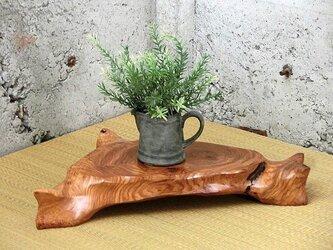一点もの 花梨コブ  飾り台 45cm幅の画像