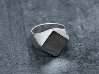 Silver Signet Ring 01 Lの画像