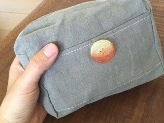 button orange / one point porchの画像