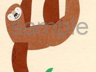 073「りんご、たべる?」ポストカード選べる5枚セットの画像