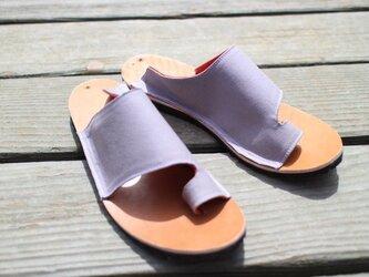 Munakata sandal -薄紫-の画像