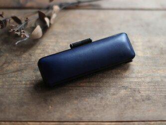 藍染革[migaki] 13.5mm径 印鑑ケースの画像