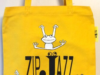 tote bag*frog イエローの画像