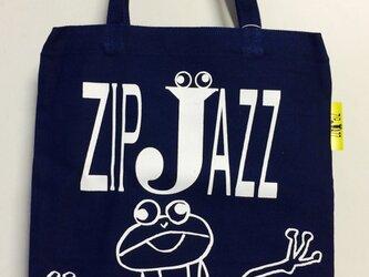 tote bag*frog ネイビーの画像