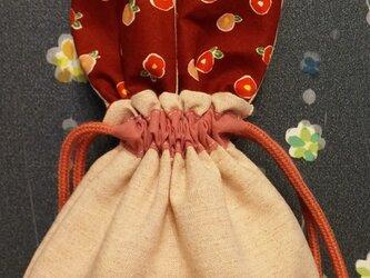 うさちゃん巾着の画像