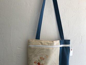 帯で作る☆チャック付バッグの画像