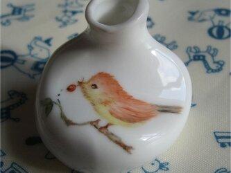 『小鳥さんのフラワーベースレスト』の画像