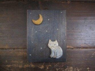 月とねこの画像