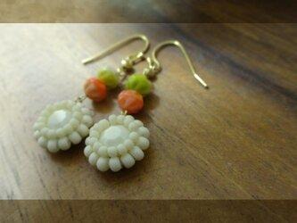 再販◆ swarovski vintage b pierce・earringの画像