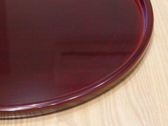 直径51cmの天心盆 溜色の画像