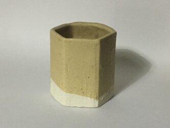 T034 黄釉筒杯の画像