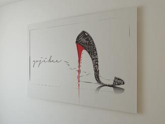 """木製パネルポスター・""""In Her Shoes""""の画像"""