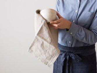 日本の職人が織るリネンキッチンクロス(全10色)の画像