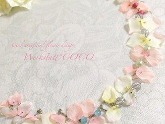 花びらピアス&イヤリング*pinkの画像