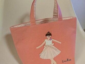 トートバッグ バレリーナの画像