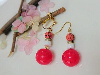 レジン pinkボールの画像