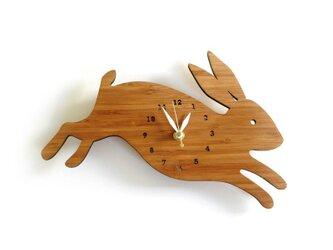 Decoylabの掛け時計 RABBIT(うさぎ)の画像