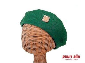 リネンのベレー帽(G)の画像