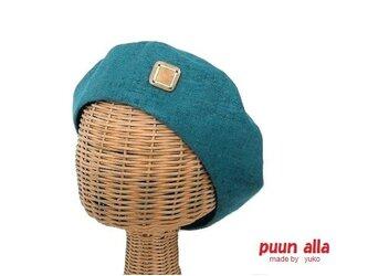 リネンのベレー帽(T)の画像