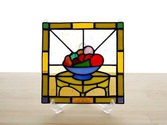 ステンドグラスパネル フルーツ Mサイズの画像