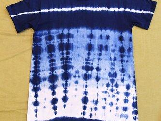 本藍染 Tシャツ(女性フリー)の画像