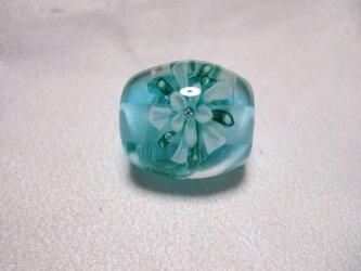 ポセイドン・グリーンのとんぼ玉の画像