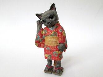 紙のいきもの 和ノ猫 ミニチュアの画像