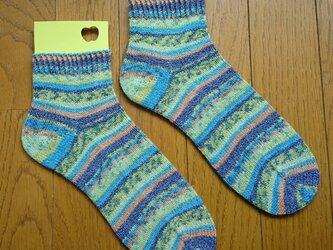 手編み靴下 ラナグロッサ 3109の画像
