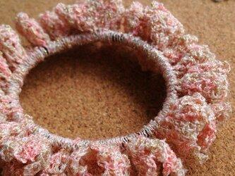 かぎ針編みのシュシュ~その5の画像